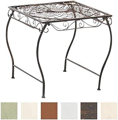 Table de jardin fer EN shabby chic Balcon terrasse ancien