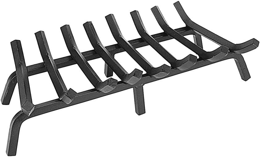 Minuteman International Tapered Iron Fireplace Grate, 27-in x 14-in