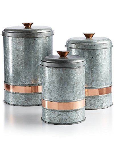 kitchen canister set metal - 8