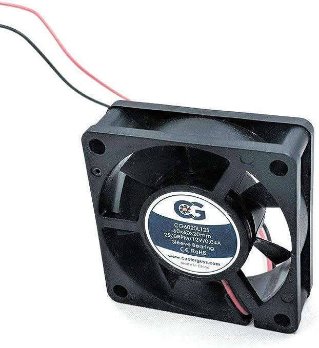 Coolerguys CG6020L12S - Ventilador Ultra silencioso para ...