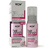 #5: New WOW Hair Vanish For Women - All Natural Hair Inhibitor. Lotion Moisturizes Skin & Reduces Hair Growth, Hair Thickness & Appearance - New Improved Formula