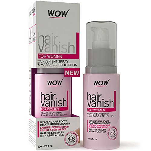 WOW Hair Vanish For Women-100ml -30 days supply-(Pack of 1)