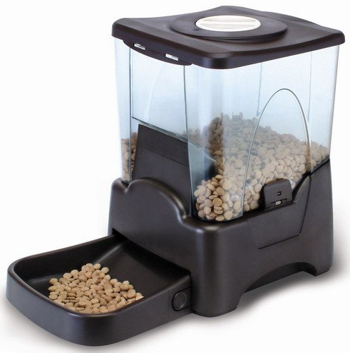 Automatic Pet Feeder Good for Dogs and Cats- Large Capacity by GZ ROYAL