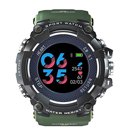 XIEXIE Smart Watch Men's Digital Display Waterproof Wrist Watches Message Reminder Call Reminder Bluetooth Multifunction Watches,Green