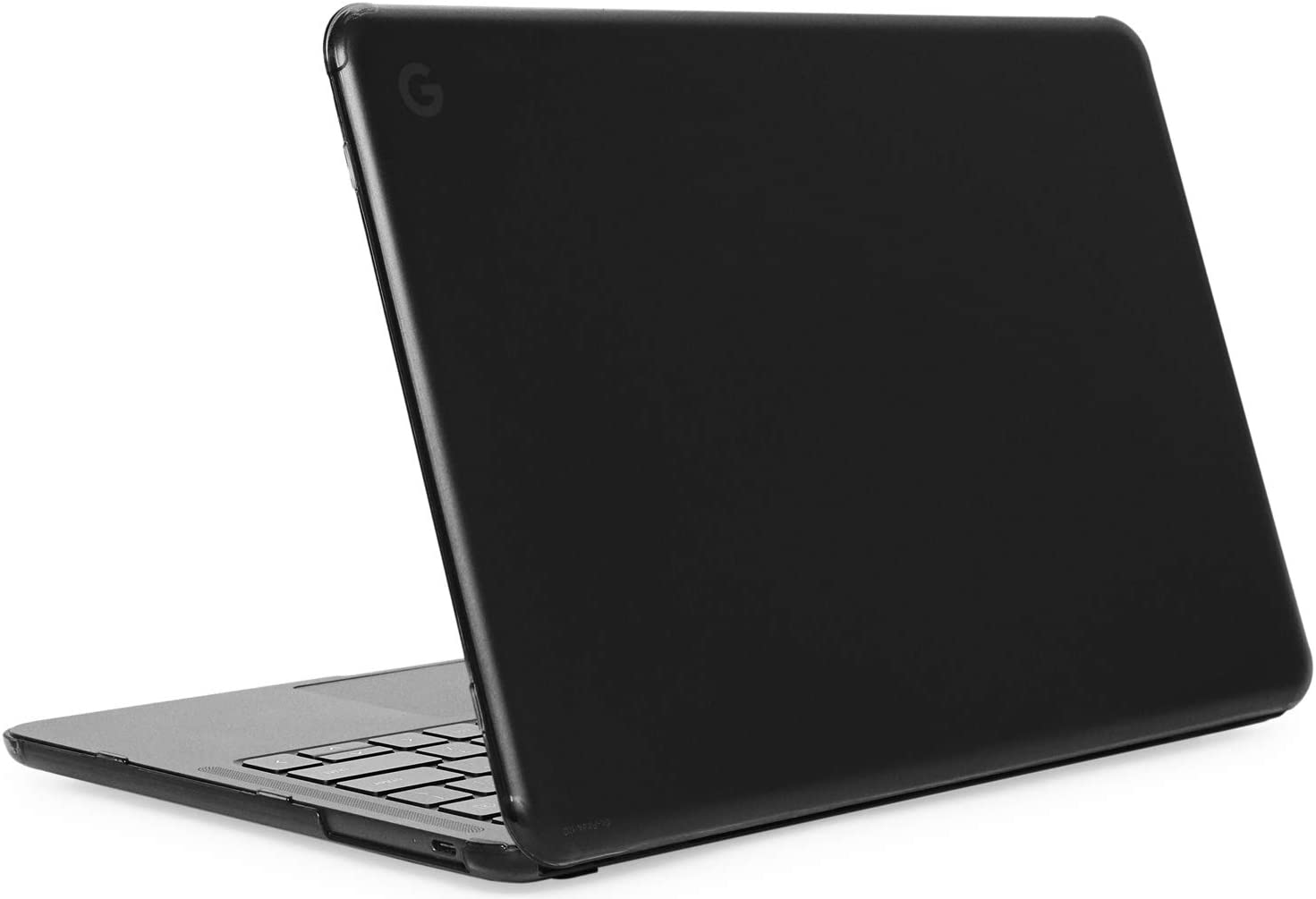 """mCover Hard Shell Case for Late-2019 13.3"""" Google Pixelbook Go Chromebook Laptop Computers (NOT Compatible Older Model Released Before 2019) laptops (PixelbookGo Black)"""