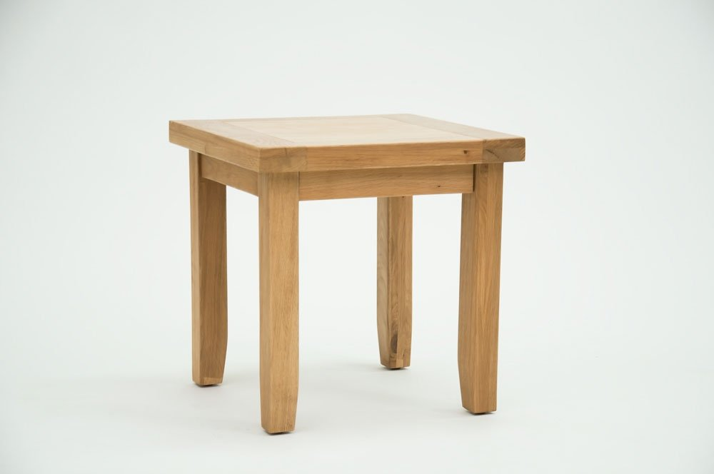 Rustic Grange Devon Oak Lamp Table DEV-19 (VTAB004)