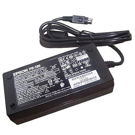 Epson Cargador de Impresora PS-180 M159E 160377-11 24V 2.1A 50.4W ...