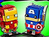 Clip: Iron Man & Captain America Brickheadz