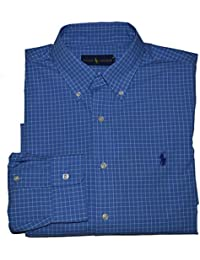 Men's Solid Poplin Sport Shirt