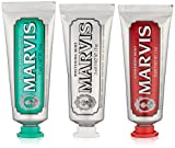 Marvis Travel with Flavor Set, Classic/Whitening/Cinnamon