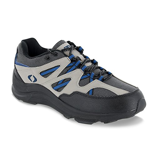 (Apex Men's V753M Sierra Trail Runner,Grey/Black Hiker,10.5)