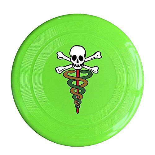 Pirates Skull Caribbean Game Plastic Sport Flying Disk