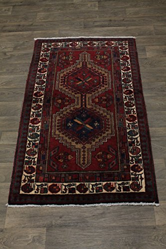 Admin Rugs Nice Foyer Size Vintage Handmade Meshkin Persian Style Rug Oriental Area Carpet 3'5X6