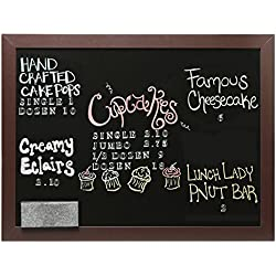 Wall Mounted Hanging Wood Frame Chalkboard Display Sign, Cafe Menu Board