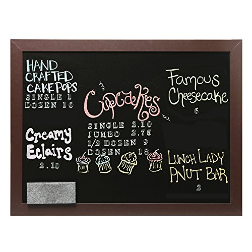 Wall Mounted Hanging Wood Frame Chalkboard Display Sign, Cafe Menu - Frame Sign Hanging