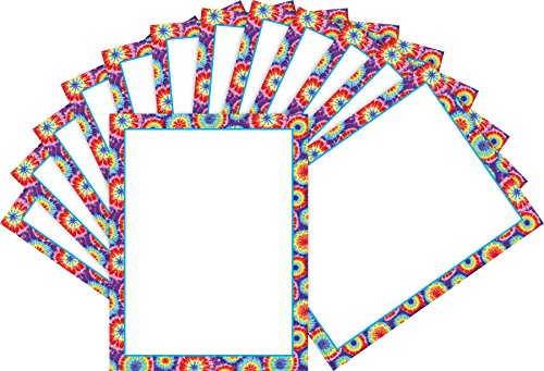 Barker Creek Computer Paper 2 Pack (100 sheets) - Tie-Dye (BC3607) -