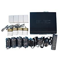 YONGHUITAI T4-960p HD-TVI Home Surveillance Camera System ,8 Channel Security Dvr (Include Hard Drive) and (8) HD 1.0MP 1280TVL Outdoor/Indoor Day Night CCTV Cameras