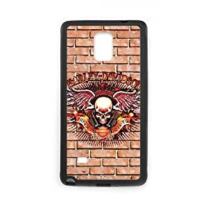 Harley Davidson Samsung Galaxy Note 4 Cell Phone Case Black Y7407271