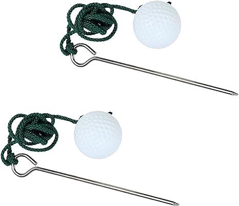 2x La Cuerda De Golf Pelota De Entrenamiento Ayuda A Mejorar La ...