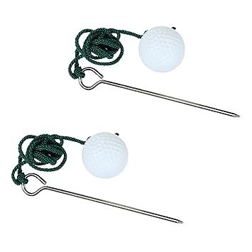 2x La Cuerda De Golf Pelota De Entrenamiento Ayuda A Mejorar La Práctica Disparos