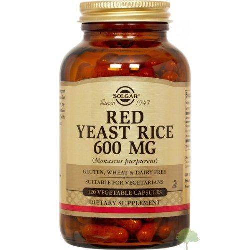 Solgar - levure de riz rouge, 600 mg, 120 veggie caps
