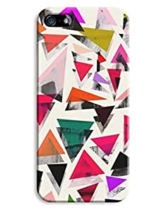 Geometric Colour Triangle Womens Design For SamSung Galaxy S3 Phone Case Cover Hard