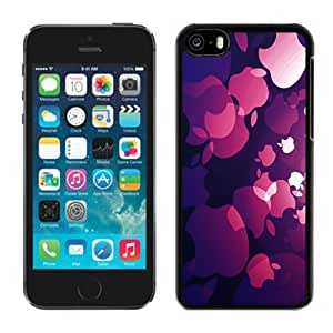 New Personalized Custom Designed For iPhone 5C Phone Case For Apple Logo Pattern Phone Case Cover