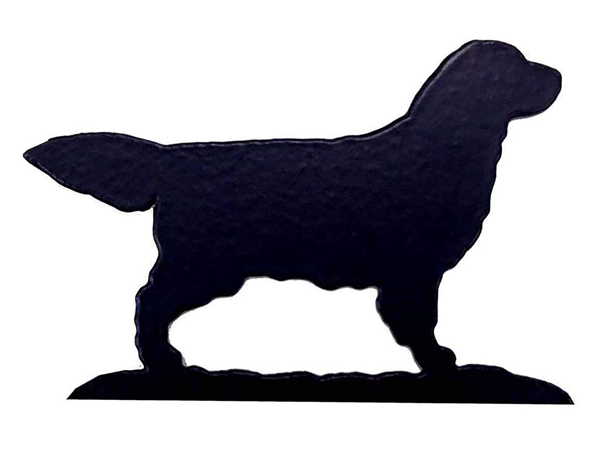 Car-Pets Ltd Golden Retriever Lovers Gift – KEY RACK - Ironwork silhouette Dog Shaped Key Rack – Unique quality hand made 3 Hook Key/Lead Rack Quality Home Products