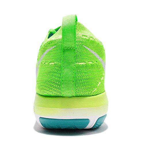 Nike Donne Trasformazione Libera Flyknit 833.410 302 Verde Elettrico (5)