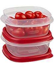 Rubbermaid 2-Pack 1.25 Cup 296ml Square Easy Find Lids