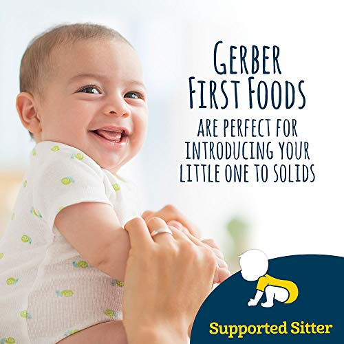 51jPQfioPVL - Gerber Purees 1st Foods Prune Baby Food Tubs, 2 Ounce Tub, 2 Count (Pack Of 8)