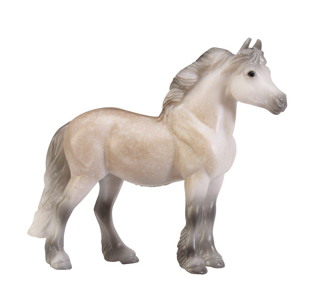 Breyer Stablemates British Pony /& Draught Stick Horse 4 Piece Set 1:32 Scale