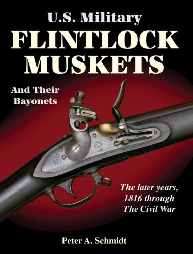 U.S. Military Flintlock Muskets and Their Bayonets; The Later Years, 1816 through the Civil War