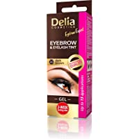 Delia Eyebrow & Eyelash Tint Gel Kit 3.0 Dark Brown