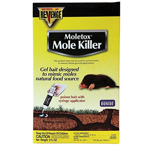Gel Bait Mole - Bonide 693 Moletoxx Baited Gel Mole Killer, 3-Ounce