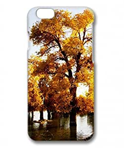 Iphone 6 Plus 3D PC Hard Shell Case Nature Fall Golden Trees by Sallylotus