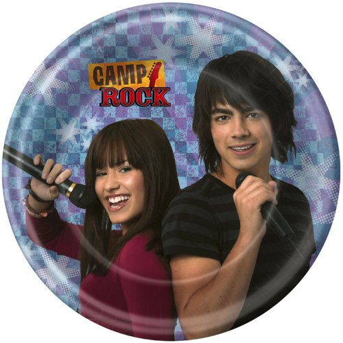 Camp Rock Dessert Plates (8 count) Party Accessory]()