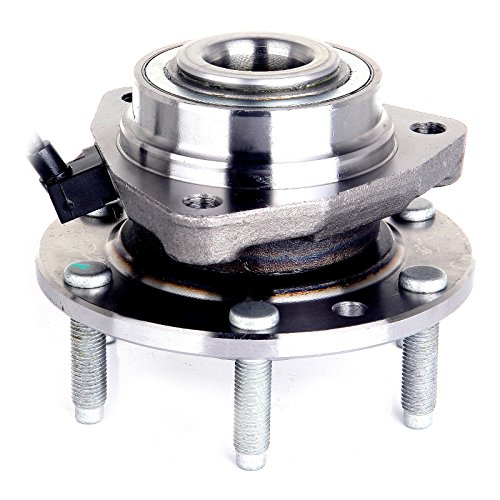 OCPTY Front Wheel Bearing Hub 513188 ABS 6 Lugs fit for 2004-2007 Buick Rainier, 2003-2006 Chevy SSR, 2002-2009 Chevy Trailblazer,2002-2009 GMC Envoy,Isuzu Ascender,Oldsmobile Bravada,Saab 9-7x ()