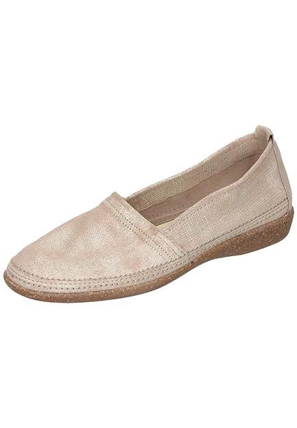 Comfortabel Damen Slipper rot, 941941-4, Gr 36