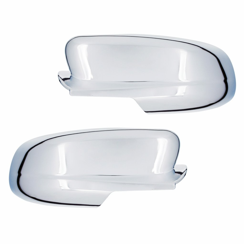 EAG 10-16 Ford Taurus Mirror Cover Triple Chrome Plated ABS with Puddle Light Cutout