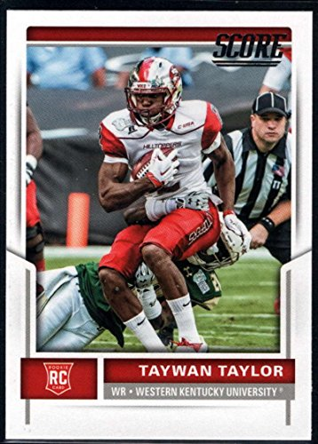 2017 Score Rookies #406 Taywan Taylor RC Football