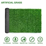 LITA Premium Artificial Grass 7' x 9' (63 Square Feet) Realistic Fake Grass Deluxe Turf Synthetic Turf Thick Lawn Pet Turf -Perfect for Indoor/Outdoor Landscape - Customized