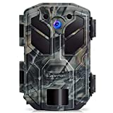 APEMAN Trail Camera 20MP 1080P Hunting Camera 40PCs IR LEDs Game Camera
