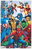 "Artopweb EC20865 ""MARVEL-Supereroi"" Decorative Panel, 22"" x 34"""
