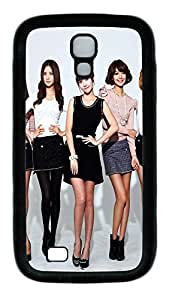 Samsung Galaxy S4 Case,Customize Ultra Slim Girls Generation 18 Soft Rubber TPU Black Case Bumper Cover for S4