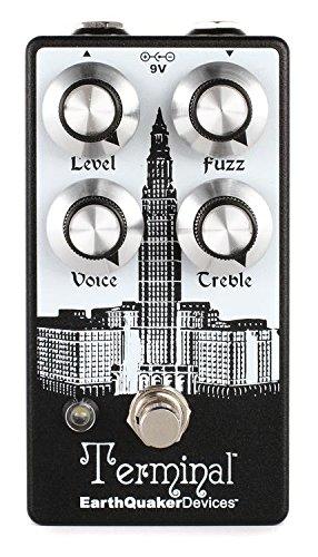 (EarthQuaker Devices Terminal V2 Destructive Fuzz Device Guitar Effects Pedal)