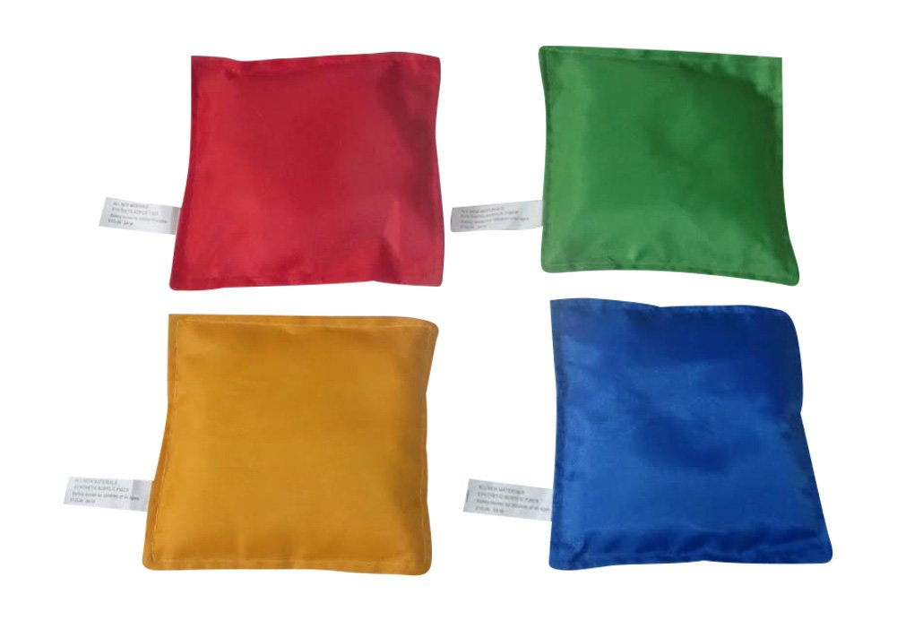 Oojami Nylon Bean Bags Toy Assorted (5 Inches by 5 Inches, 12 Piece)