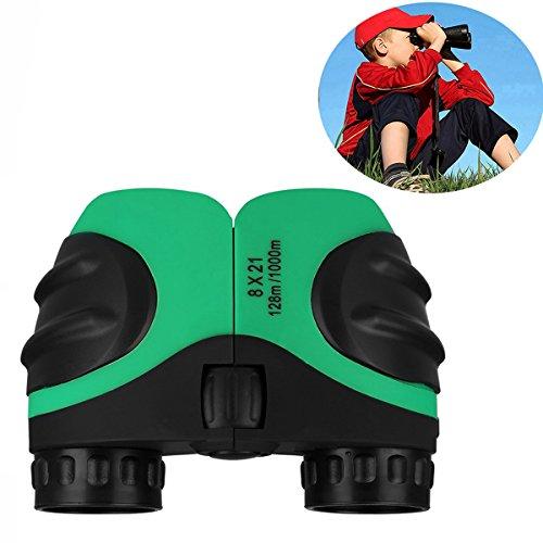 Binoculars for Kids, DIMY 8x21 Compact Birding Wide Field of Wiew Green DL01