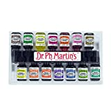 Dr. Ph. Martin's Radiant Concentrated Water Color Bottles, 0.5 oz, Set of 14 (Set C)