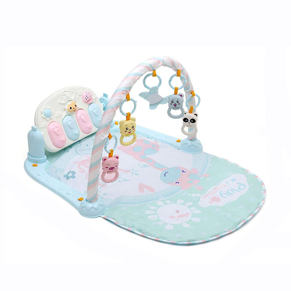 Pedal Piano Fitness Rack Puzzle Baby Toy Early Education 0515A (Size : 836343cm)